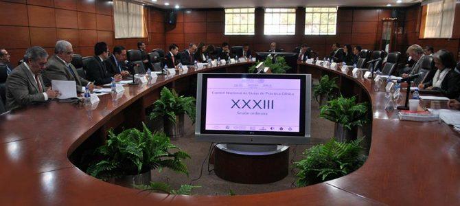 XXXIII Comité Nacional de Guías de Práctica Clínica