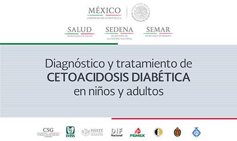 Diagnóstico y tratamiento de cetoacidosis diabética en niños y adultos